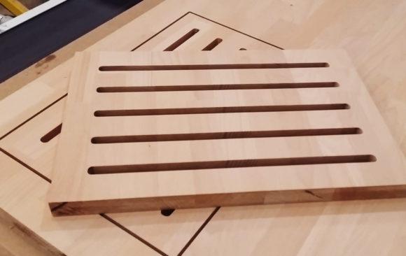 Realizacje: Frezowanie drewna bukowego