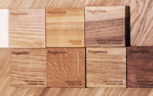 Realizacje: Wzornik drewna Hagenton