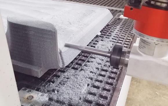 Realizacje: Prototyp stołu ze styroduru