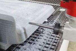 Frezowanie styroduru