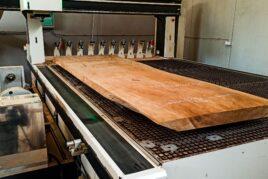 Planowanie blatu drewnianego