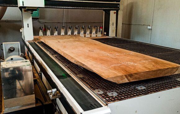 Realizacje: Blat z drewna Sono