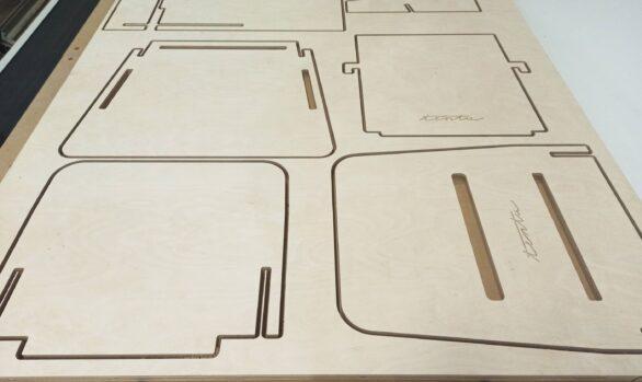 Realizacje: Frezowanie mebli / planowanie produkcji