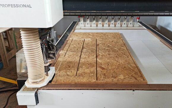 Realizacje: frezowanie Płyt OSB