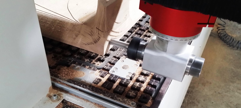 nawiercanie elementów drewnianych