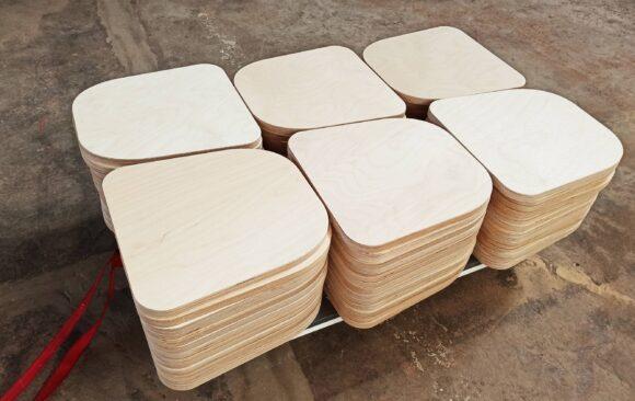 Realizacje: frezowanie CNC siedziska krzesła