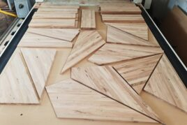 Frezowanie schodów z drewna