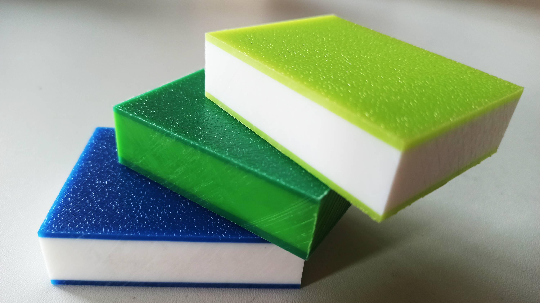 Kolorowe kostki z Polietylenu PEHD