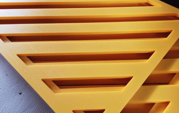 Realizacje: Frezowanie CNC komponentów z PEHD
